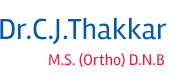 Dr. C. J. Thakkar - Joint Replacement Specialist